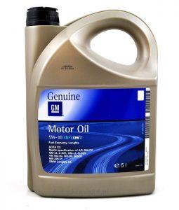 Promocje GM genuine Motor Oil